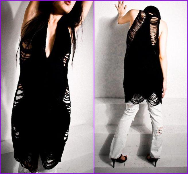 ideeen-black-knit-vest-dress