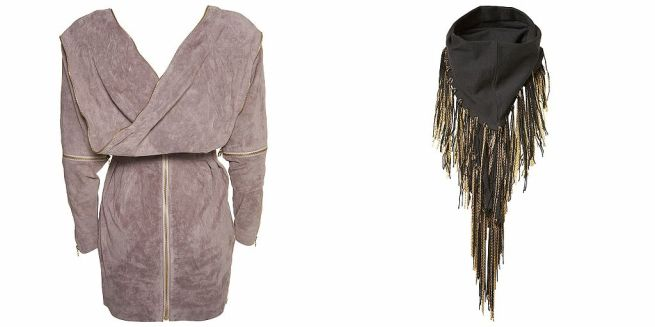 topshop-dress-and-scarf