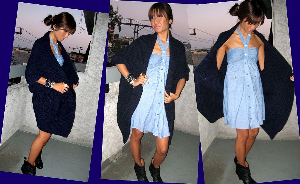 navy-sweater_uo-dress_steve-madden-boots