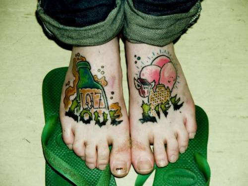 Sexy Cute Tattoos For Female With Feet Unique Tattoo Designs Arts Image