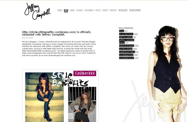 Jeffrey Campbell Blog