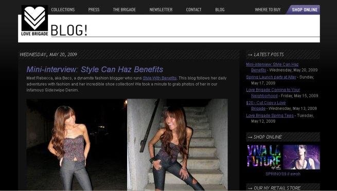 Love Brigade Blog