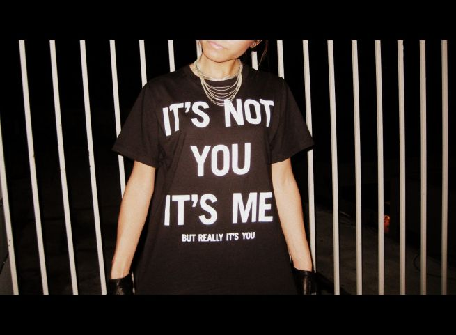 UO It's Not You It's Me shirt