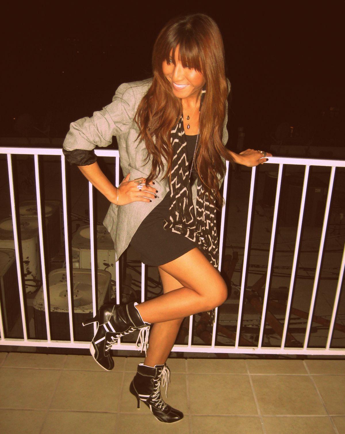 Zara blazer_Vintage shoes2