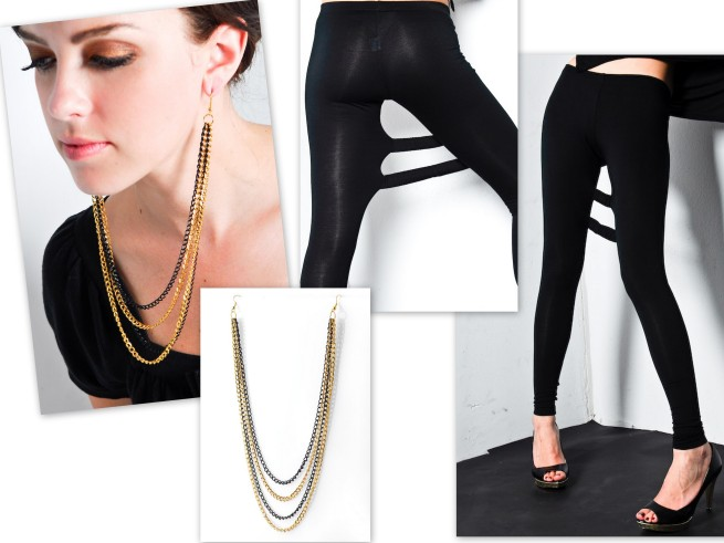 Dechel Mckillion Earlace Earrings_Anzevino and Florence Strap Leggings