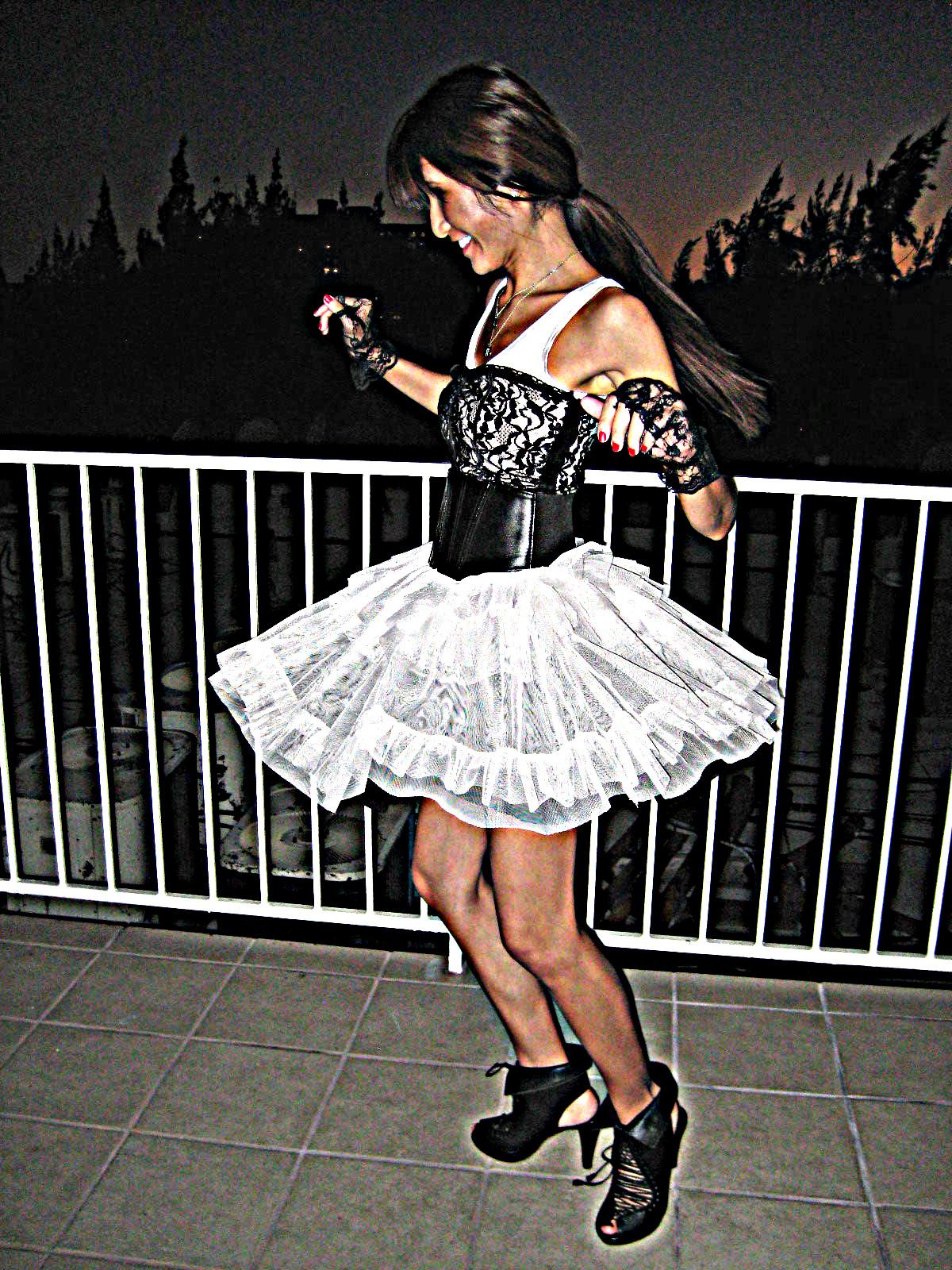 HM dress_Rampage top_JC shoes3