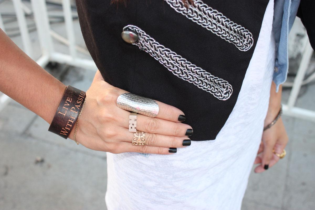 Live with passion bracelet