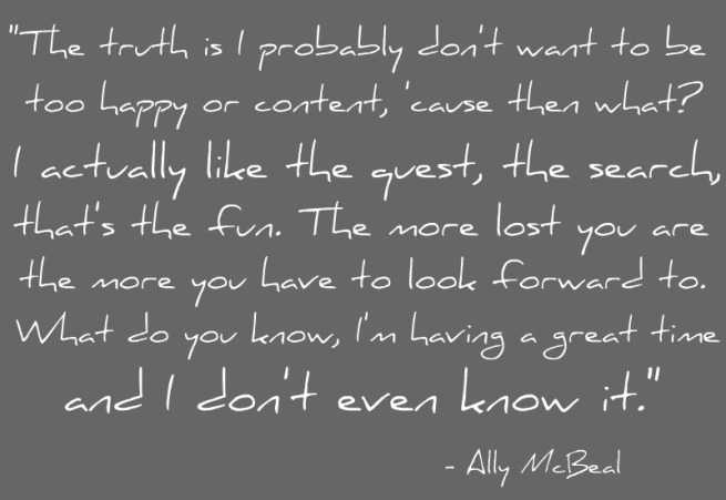 Ally McBeal quote