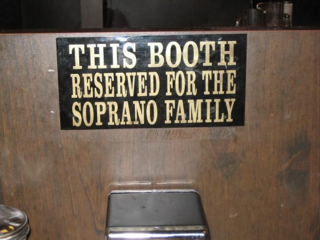 Sopranos Booth
